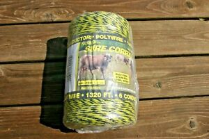 Fi-Shock PW-400 Polywire Stainless Steel 6 Conductor High Visibility