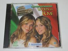 WHEN IN ROME/SOUNDTRACK/VARIOUS(DULSTAR/TRAUMA TRM-74058-2)CD ALBUM NEU