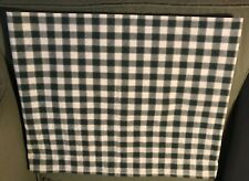 "WAVERLY GREEN & WHITE CHECK VALANCE 15"" X 74"""