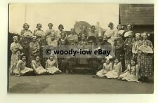su1618 - Cast of Play ? - Oriental Theme , unknown location - postcard
