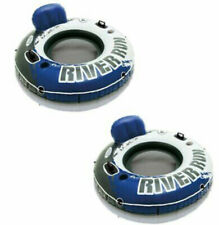 Intex River Run 1 Inflatable Floating Water Tube Rafts (PACK OF 2) FREE SHIPPING