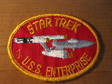 STAR TREK NCC Ship USS Enterprise Embroidered Cloth PATCH