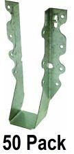 50 Pack Simpson Strong Tie Lu28 20 Gauge Steel 2 X 8 Face Mount Joist Hangers