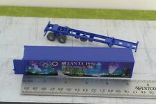 Wiking Atlanta 96  40' Container w/ Trailer for Tractor Trucks 1:87 HO Scale