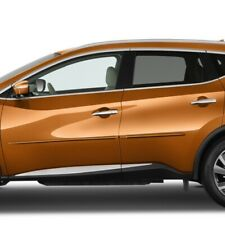 4PC PAINTED BODY SIDE MOLDING TRIM HM-MUR15 FITS 2015-2018 NISSAN MURANO