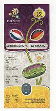 Orig.Ticket  EM POLEN / UKRAINE 2012   NIEDERLANDE - DEUTSCHLAND / Spiel 12  !!