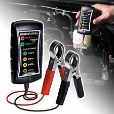 12 Volt Battery Tester 24v 24 Volt Analyzer for Car Truck SUV Automotive Small A