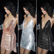 Clubwear Short Dresses for Women with Sequins