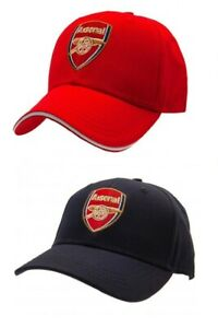 Official Arsenal FC Baseball Cap Summer Hat Football Club Team Plain Peak