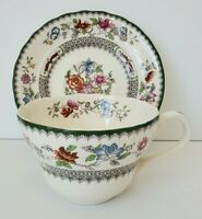 Spode Chinese Rose Oversized Jumbo Breakfast Cup and Saucer