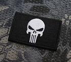 Aufnäher Patch Klett Punisher Tactical Tac Prepper EDC Bushcraft Airsoft SHTF