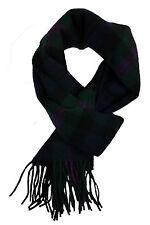 Baird Modern tartan lambswool scarf