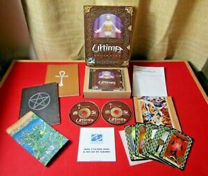 ULTIMA ASCENSION PC Big Box Game Complete With Cloth Map