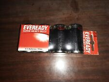 Vintage 4 pack Eveready C Cell Batteries