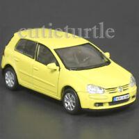 "4.5"" Welly VW Volkswagen Golf V GTi Fsi Diecast Toy Car 42361D Yellow"