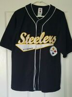 Pittsburgh Steelers Roethlisberger #7 Football Jersey Mens Medium Authentic NFL