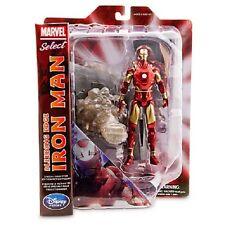 Marvel Select Bleeding Edge Iron Man Action Figure Diamond Select