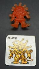 vintage Japanese NECLOS FORTRESS keshi figure ASTAROT monster toy part 3 +CARD !
