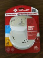 New! First Alert Smoke Alarm and Carbon Monoxide Alarm Safety Pack sealed