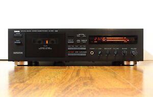 Piastra a cassette YAMAHA KX-650 Top vintage 3 HEAD tape deck cassettedeck HI-FI