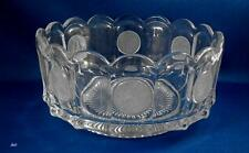 Avon Coin Pattern crystal bowl from Fostoria