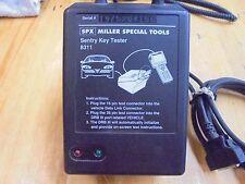 Chrysler Miller 8311 Sentry Key Tester Dealer Special Tool Set