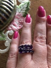 Size 9- 2.70ctw Purple Amethyst Sterling Silver Ring