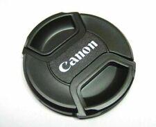 copriobiettivo tappo Lens Cap frontale anteriore lente scritta Canon 52mm 52 mm