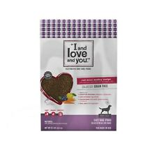 """""""I and love and you"""" Nude Food Red Meat Medley Grain Free Dry Dog Food, 23 L"""