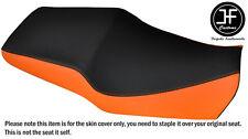 Estilo 2 Naranja y Negro personalizado de vinilo cabe Honda CBR 600 F 91-96 Doble Cubierta de asiento