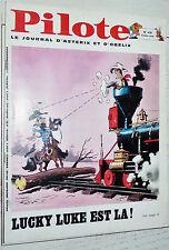 PILOTE EO N°478 2/01 1969 PILOTORAMA LE POINCARE ASTERIX TANGUY LUCKY LUKE GREG