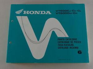 Catálogo de Piezas/Regiones Catálogo Honda VT 600C Sombra Stand 1991
