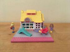 Vintage 1993 Polly Pocket Toy House Bluebird - COMPLETE w/ Dolls - Mattel 11197