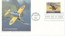 1997 FIRST DAY COVER FDC CLASSIC AMERICAN AIRCRAFT P26 PEASHOOTER FLEETWOOD CACH