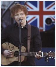 Ed Sheeran SIGNED Photo Genuine Obtained In Person + Hologram COA