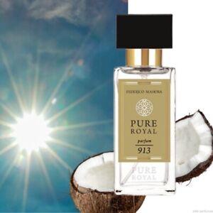 FM 913 Pure Royal Federico Mahora Unisex Perfume 50ml - Summer In A Bottle!