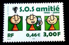 SELLOS FRANCIA 2000 3356 SOS 1v.