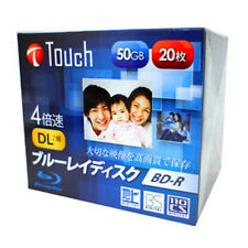 20 Blu Ray Touch BD-R DL 4X 50Gb Rohlinge printable Japan