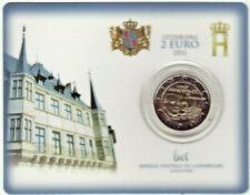 LUXEMBOURG BU 2012 Coincard 2 € Commémorative GD DUC GUILLAUME IV / Sous blister