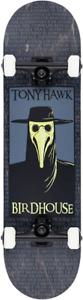 "Birdhouse Plague Doctor 8"" Tony Hawk Black Official Factory Skateboard Complete"