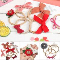 Bow Knot  Bowknot Soft Baby Headband Hair Accessories Hair rope Nylon Hairband