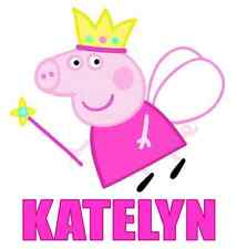 Peppa Pig Fairy Personalized Iron On Transfer 5