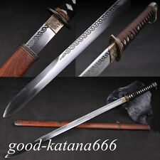 Hand Forge Japanese 98 Type Military Samurai Sword Katana Manganese Steel Blade