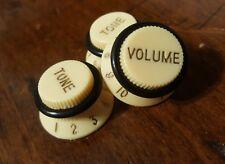 3 Guitar Speed Grip Top Hat Push/Pull knobs. Cream ... JAT C.G.P