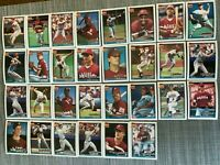 1991 PHILADELPHIA PHILLIES Topps COMPLETE Baseball Team Set 29 Cards DYKSTRA!