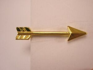 -Directional Arrow Pointer Vintage Tie Bar Clip