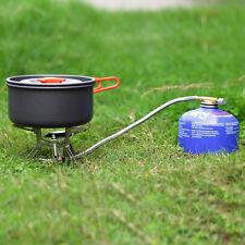 Portable Gas Stove Butane Propane Burner 3000W Outdoor Camping Hiking Picnic JH
