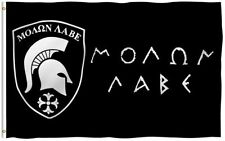 3x5 Molon Labe Greek Spartan Battle Flag 3'x5' House Banner grommets polyester