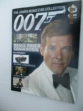 MAGAZINE ONLY JAMES BOND CAR COLLECTION  99 Range Rover Convertible