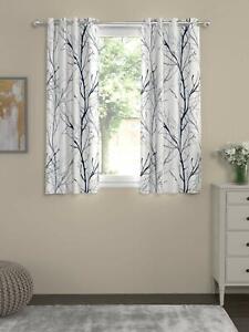 New 2 Piece Window Curtain Set - 5 x 5 feet
